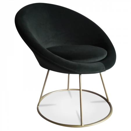 Fauteuil hobby velours