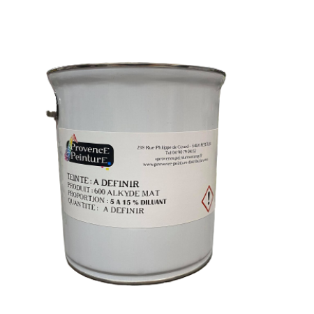 Alkyde mate antirouille (600)