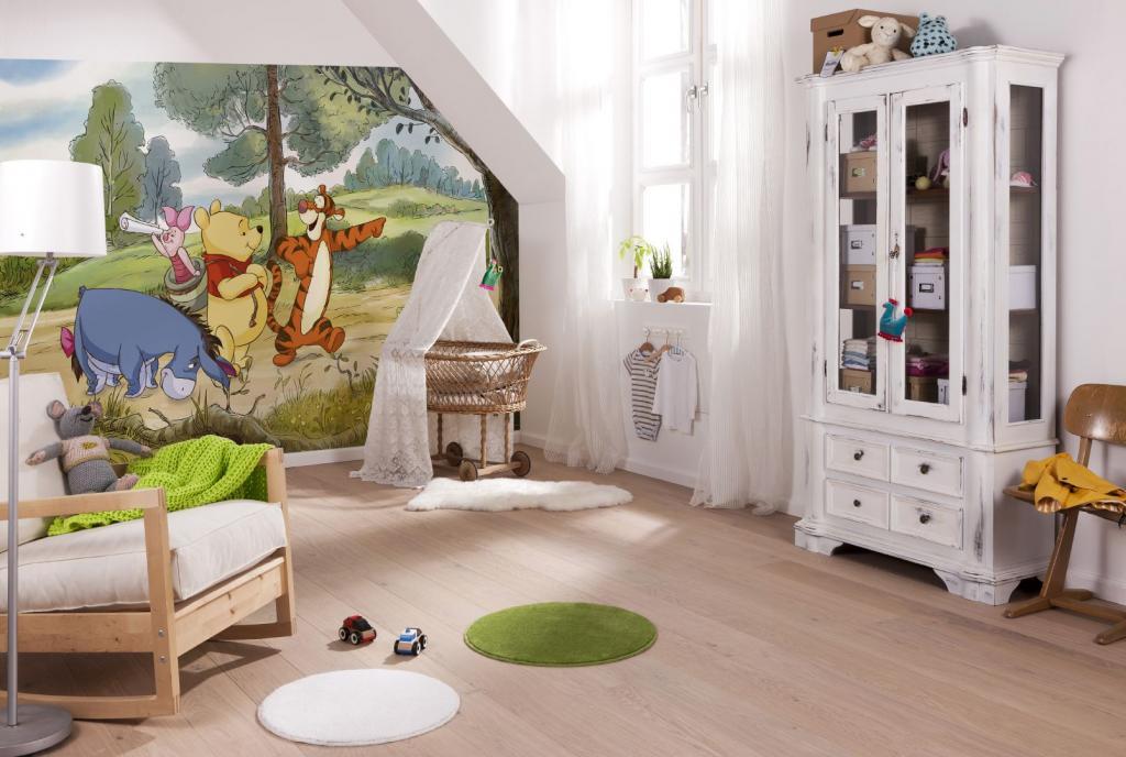 Papier peint XXL - trompe l'oeil - Disney - Vente Revêtement mur